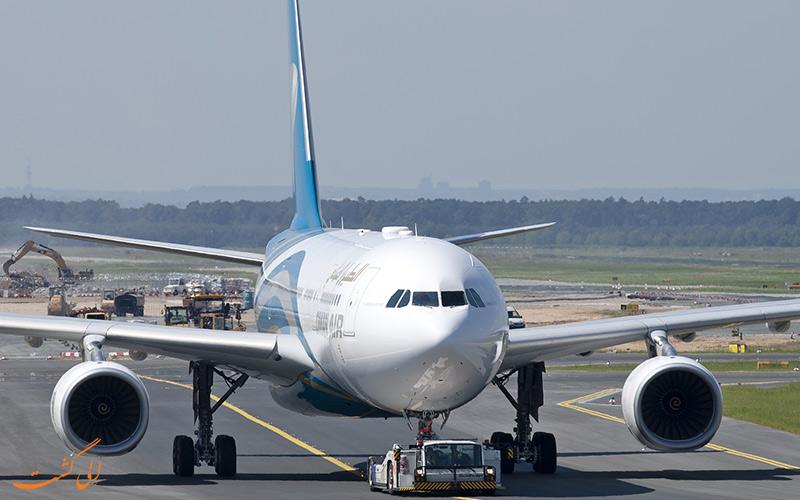 پروازهای عمان ایر
