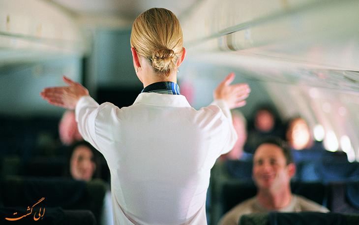 قوانین پرواز درباره کرکره پنجره هواپیما