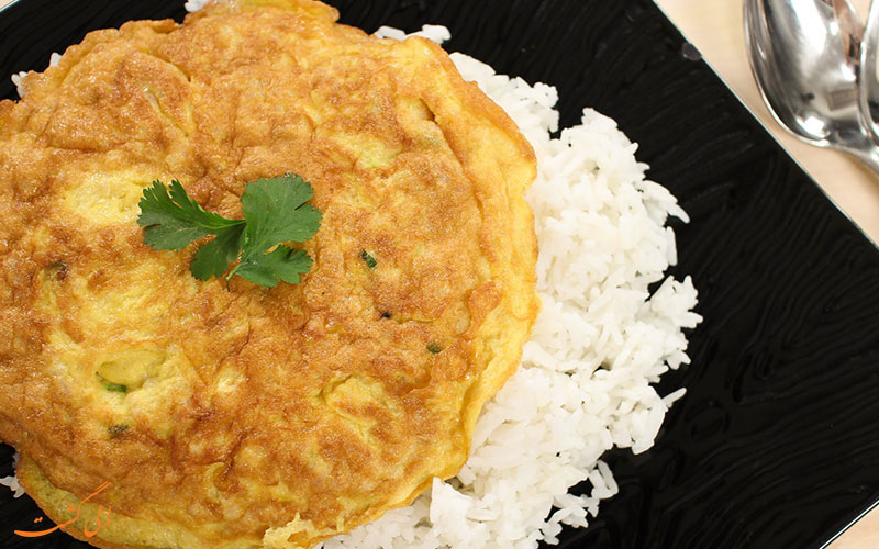املت و برنج