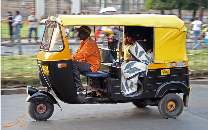 ریکشا در بمبئی