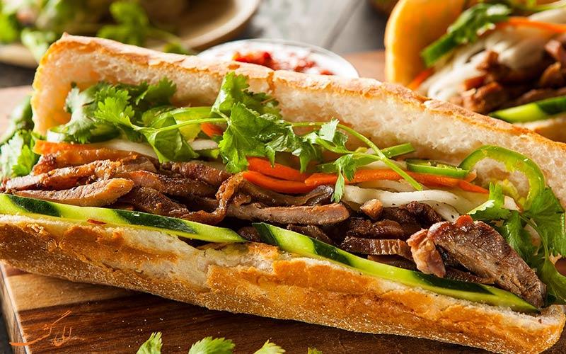 ساندویچ به همراه املت
