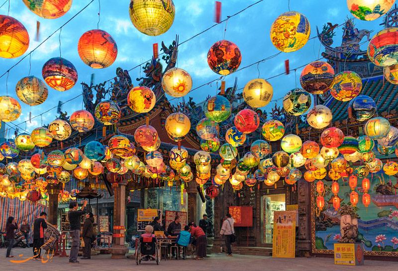 بهار چینی ها در چین