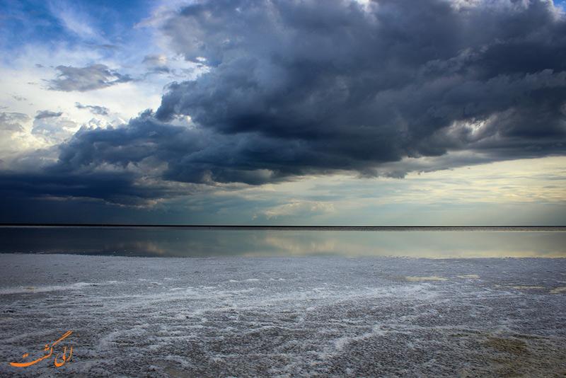 دریاچه التون در روسیه