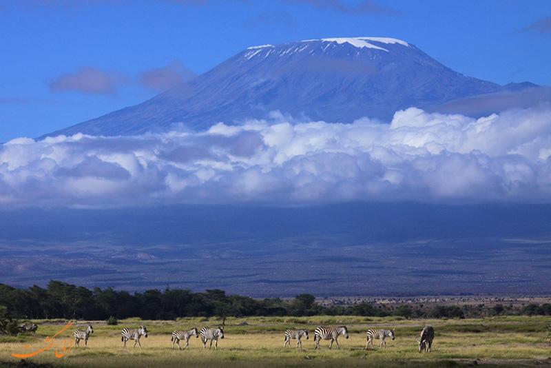 کوه کلیمانجارو آفریقا