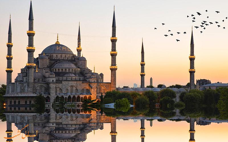 فضای خارجی مسجد