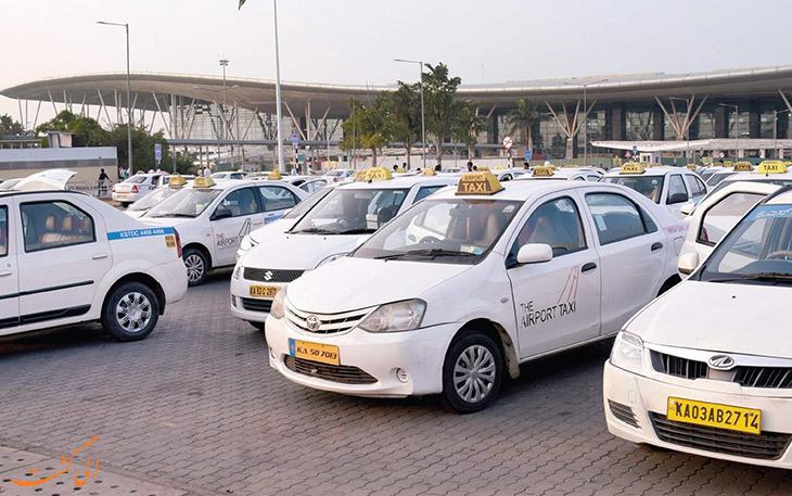 تاکسی فرودگاه ایندیرا گاندی