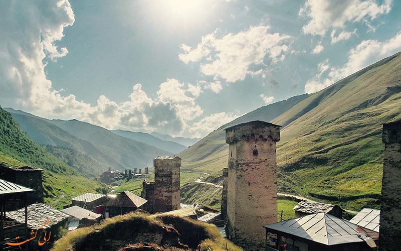 روستای اوشگولی گرجستان