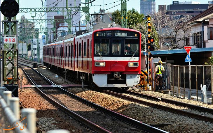 قطار در حمل و نقل فرودگاه توکیو