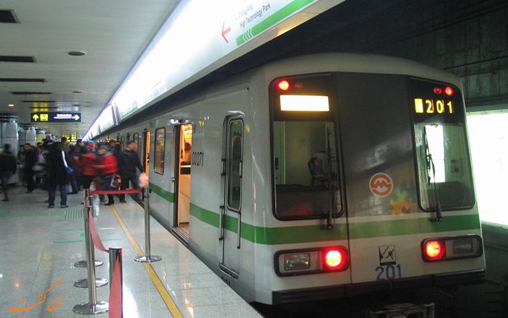 مترو فرودگاه شانگهی پودنگ