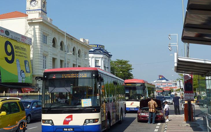 هزینه حمل و نقل در پنانگ