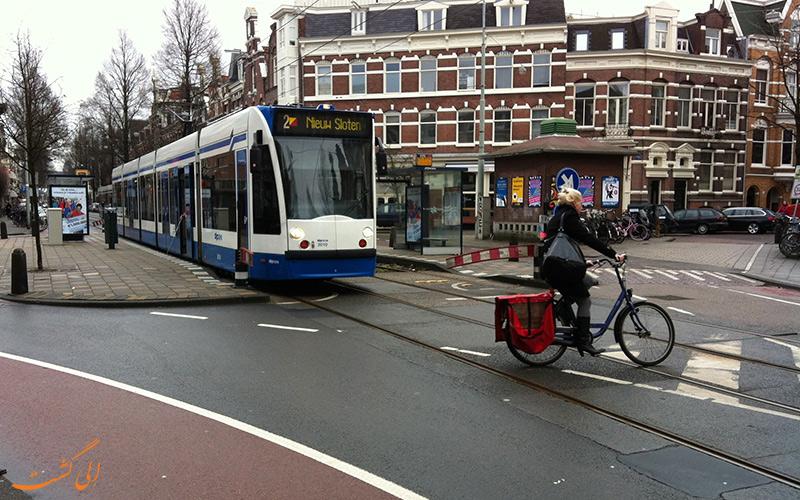 هزینه حمل و نقل در آمستردام