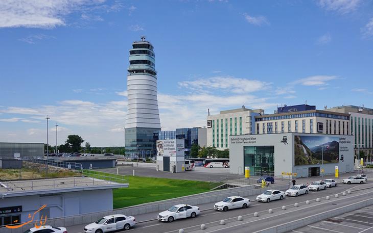 فرودگاه وین اتریش