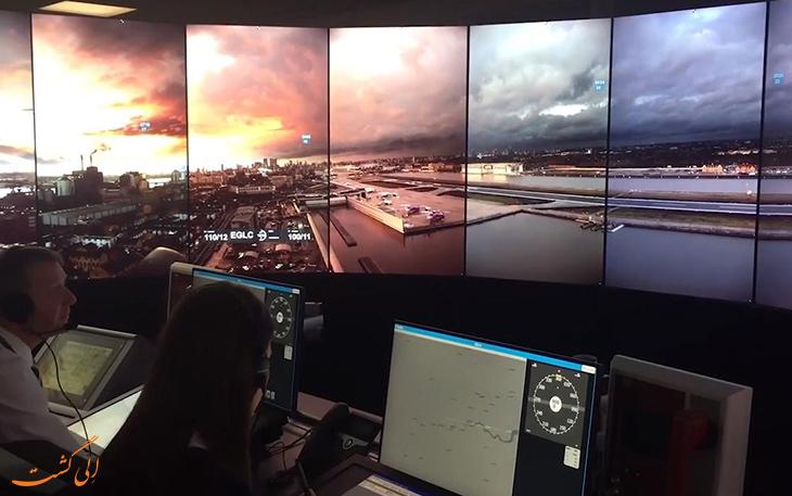 فرودگاه کنترل از راه دور