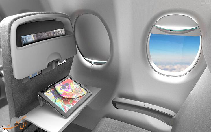 کرکره پنجره هواپیما باید در پرواز و فرود بالا باشد