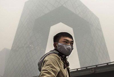 ساخت دودکش جاذب مه دود در چین- smog free tower - الی گشت