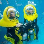 زیر آب های بالی موتور سواری کنید!
