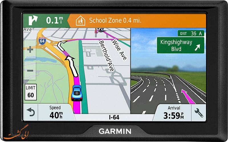 نحوه کار با جی پی اس - GPS- برند گارمین