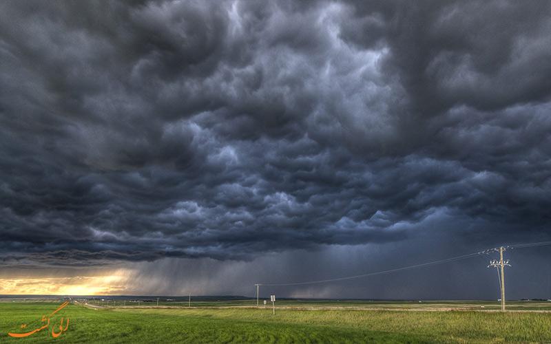 نیمبوس- Nimbus Clouds- پیش بینی وضعیت هوا در سفر