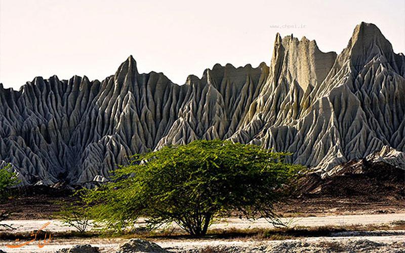 کوه های مینیاتوری یا کوه های سفرمریخی- سفر به چابهار