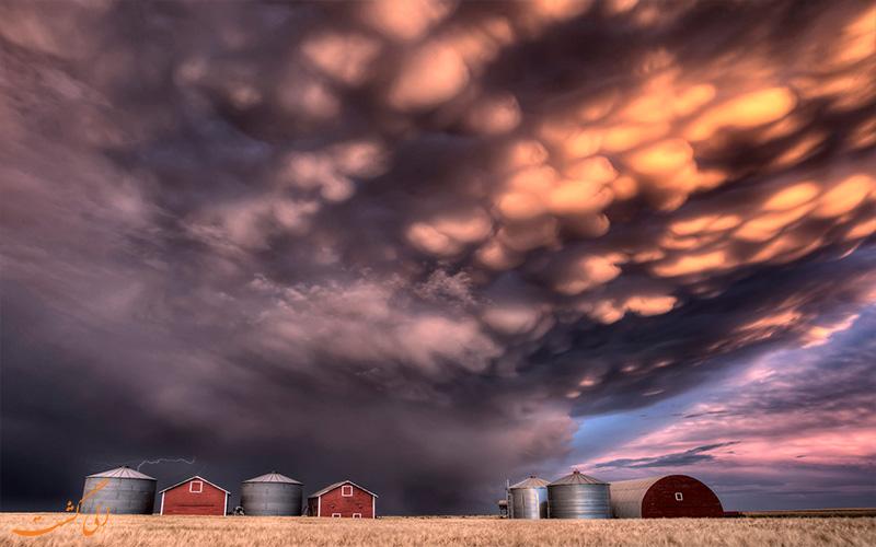 کومولونیمبوس-Cumulonimbus clouds- انواع ابرها