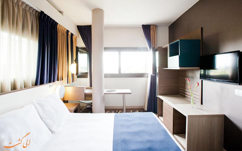امکانات اتاق های هتل مرکیور سنترو کلوسئو رم