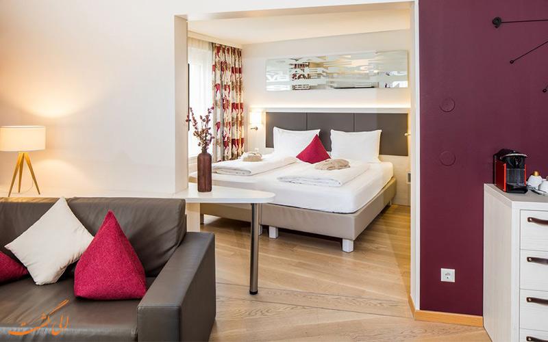 امکانات اتاق های هتل زیتگیست وین