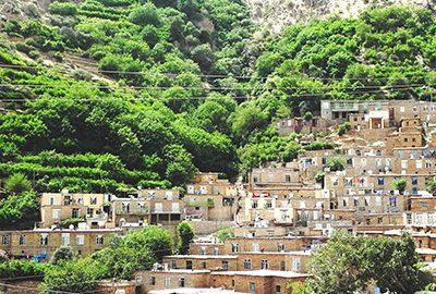 روستای هجیج در کرمانشاه