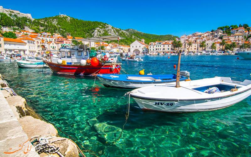 آب و هوای کشور کرواسی
