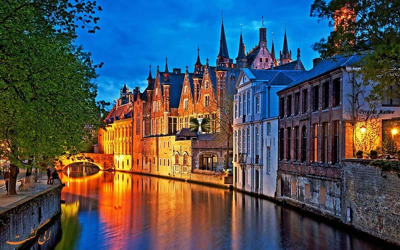 10 مورد از شهرهای دیدنی بلژیک