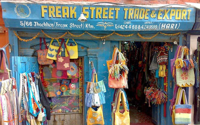 خیابان فریک کاتماندو
