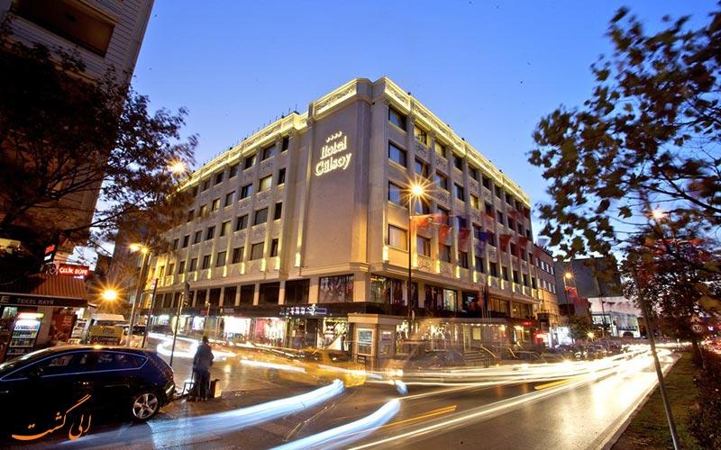 هتل گرند گولسوی استانبول- بهترین هتل های 4 ستاره