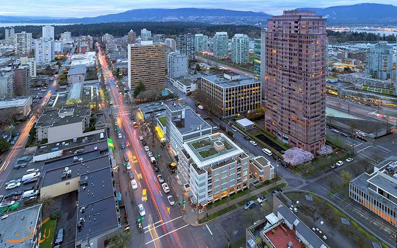 خیابان رابسون ونکوور