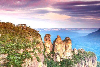 کوهستان آبی در استرالیا