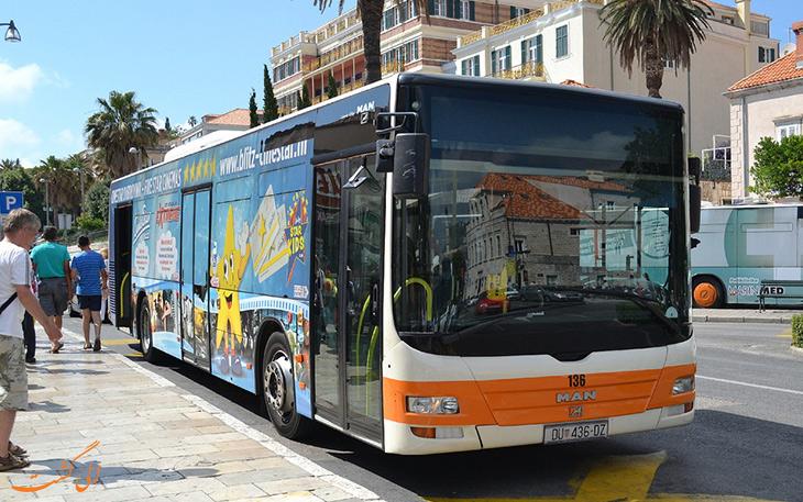 هزینه حمل و نقل در شهر دوبرونیک