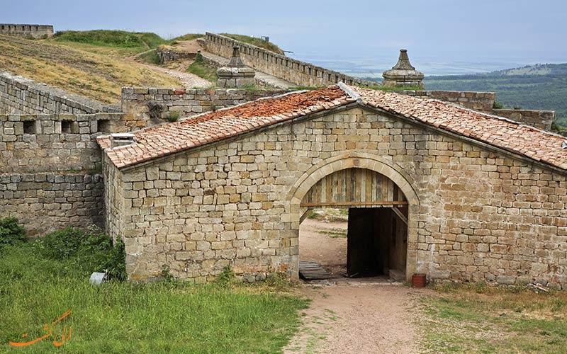 بخشی از قلعه بلوگرادچیک بلغارستان