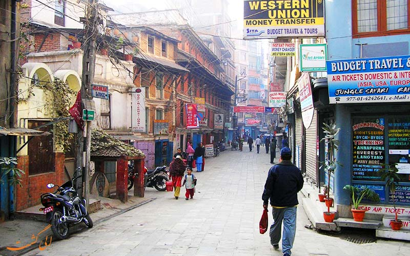 خیابان فریک کاتماندو نپال