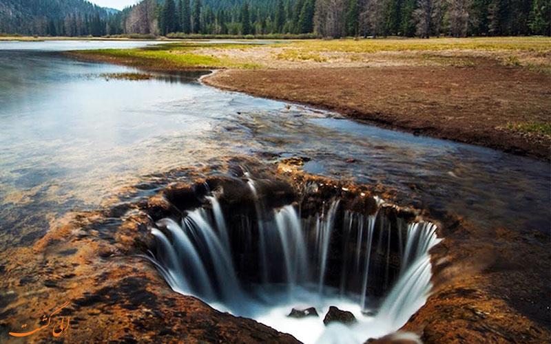 دریاچه گمشده اورگان آمریکا