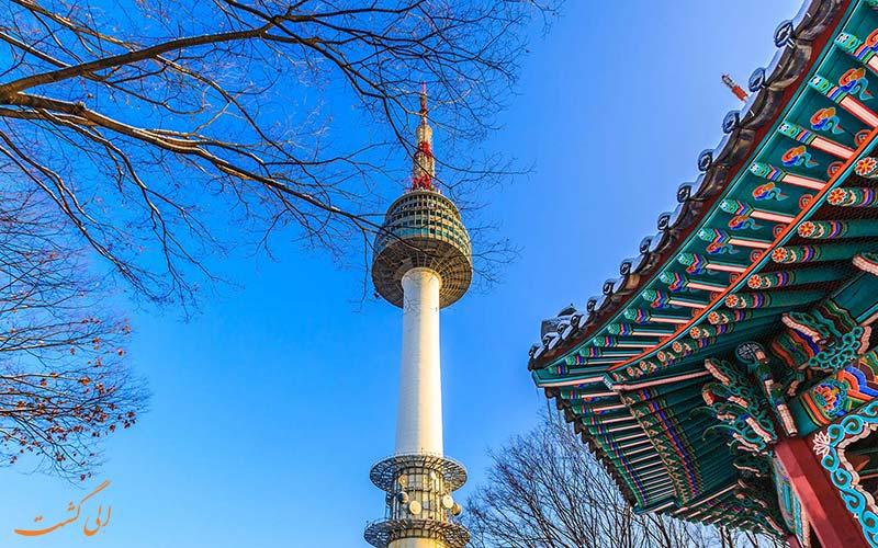برج ان سئول کره جنوبی
