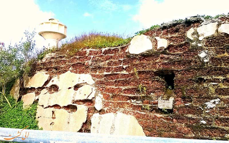 بخش هایی از قلعه کلمبو