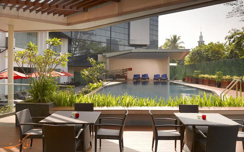 هتل گرن ملیا جاکارتا   استخر