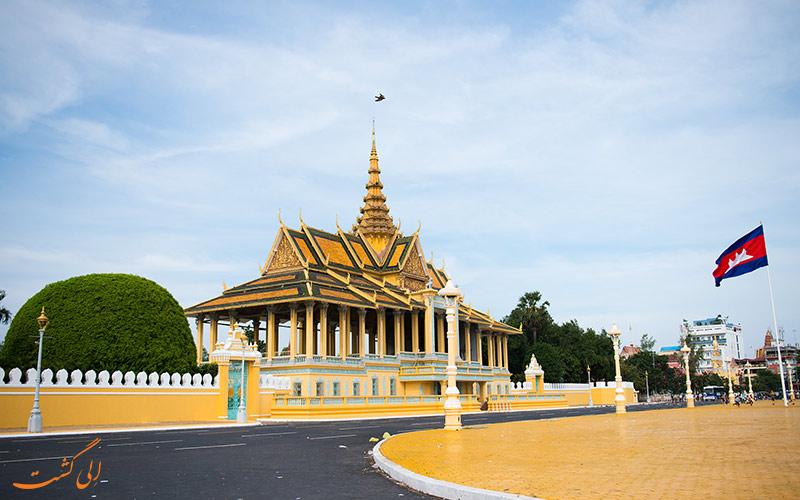 کاخ سلطنتی در پنوم پن کامبوج