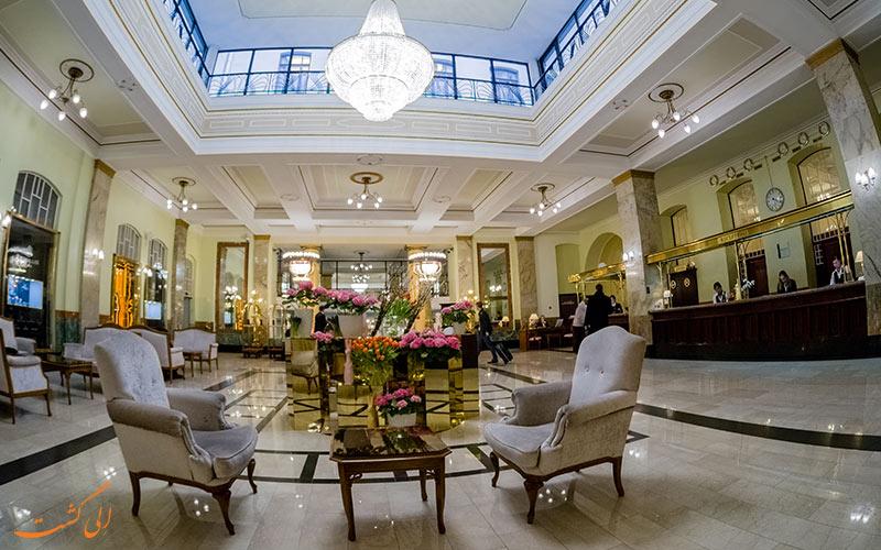 هتل متروپل مسکو | لابی