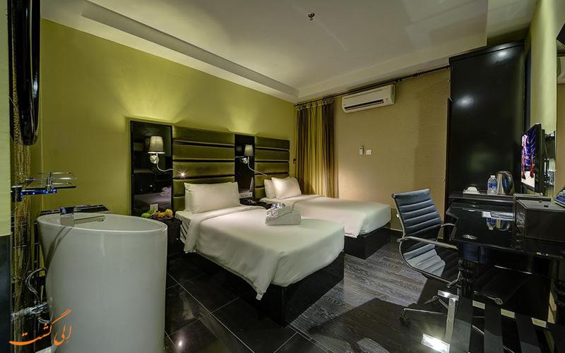 هتل آرنا استار کوالالامپور | نمونه اتاق