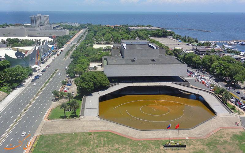 نمای مرکز فرهنگی فیلیپین