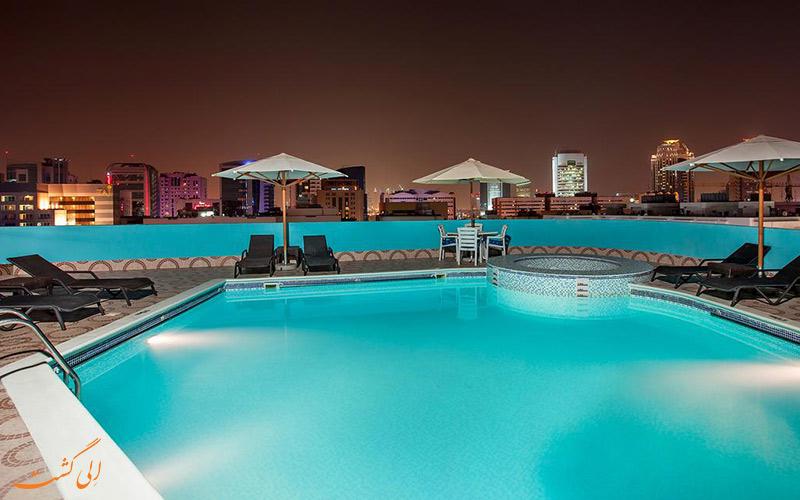 هتل فلورا گرند دبی | استخر