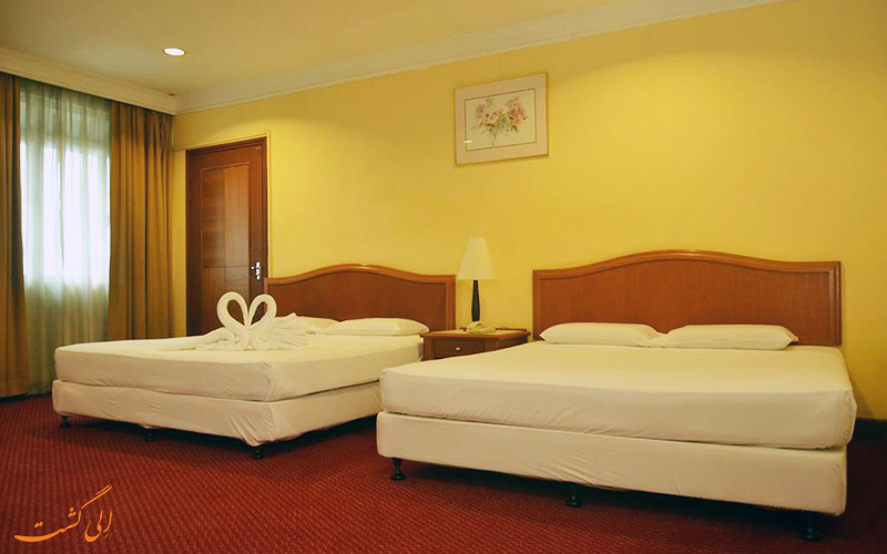 هتل گرند پسیفیک کوالالامپور | نمونه اتاق
