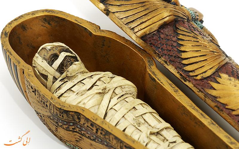 تابوت مومیایی مصری