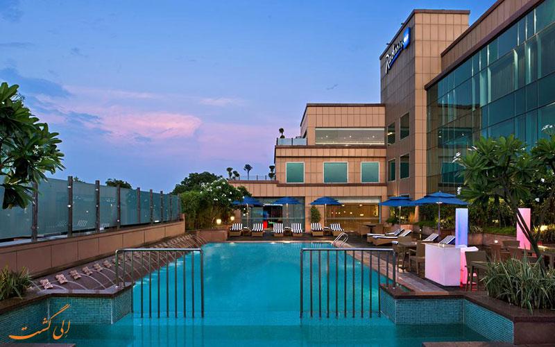 هتل رادیسون بلو آگرا تاج ایست گیت | استخر