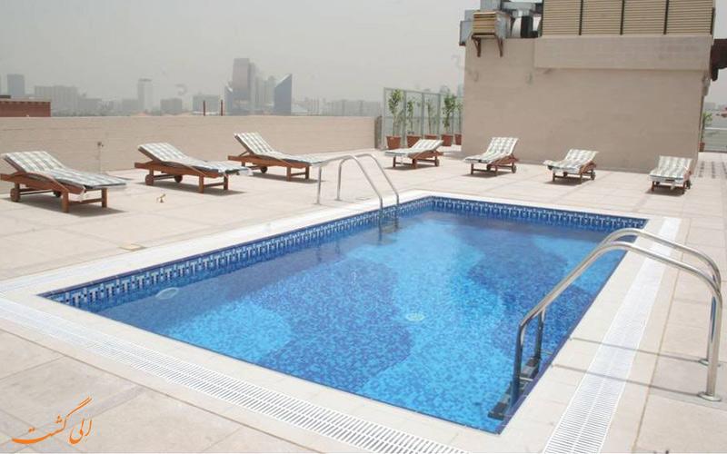هتل رامی رویال دبی | استخر