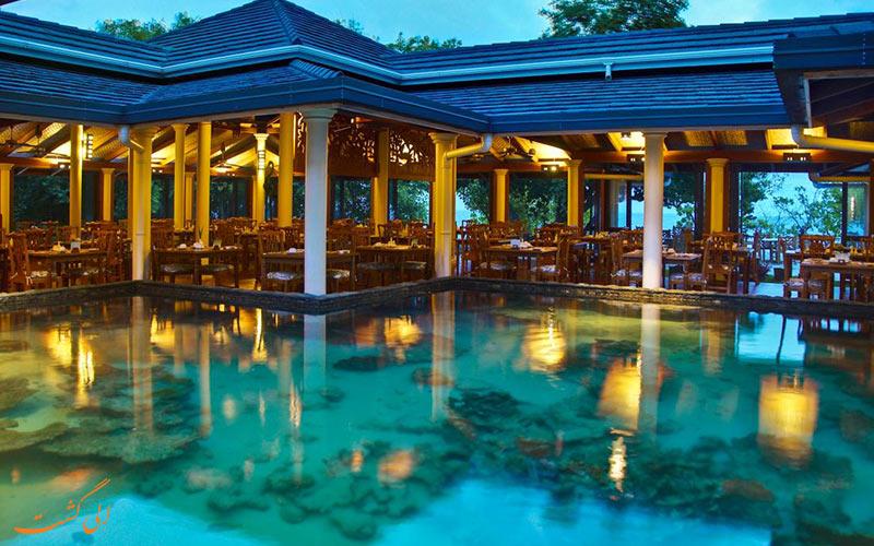 هتل رویال آیلند مالدیو | استخر